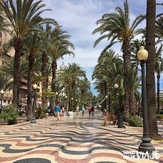 Alicante imprescindible, La Explanada y el Edificio Carbonell ...