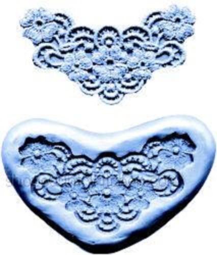Lace Maker silicone mold -Flowers- CK cake decorating fondant gum paste