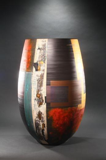 I am mondrian and vase on pinterest for Mondrian vase