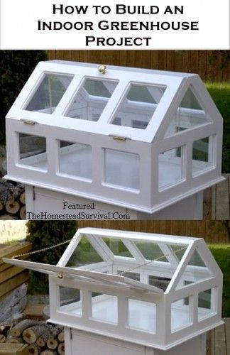 How to Build an Indoor Greenhouse Project _ The Homestead Survival - Homesteading