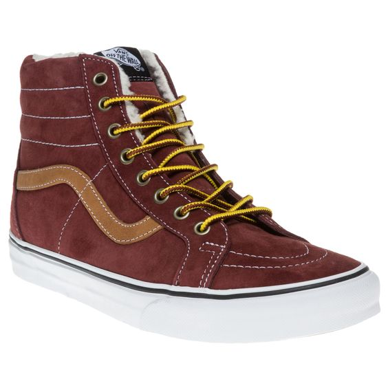Vans Sk8-Hi Reissue Trainers now available in the Sole Trader Winter #Sale #Harlow #Essex #Fashion #Vans #Trainers #Sneakers #Fashion