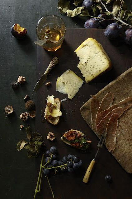 if food were in this style statement it would def. look like this rustic mediterranean spread :)
