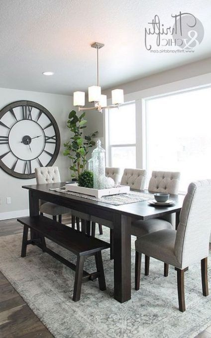 16 Ideas Dark Wood Kitchen Table Dining Rooms Dining Room Small Dining Room Table Decor Minimalist Dining Room