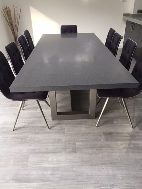 Beautiful Greylite Corian Meetingtable And Island We Love The
