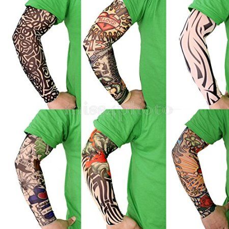 Mangas de tatuajes falsos (pack de 6) - WATYFA