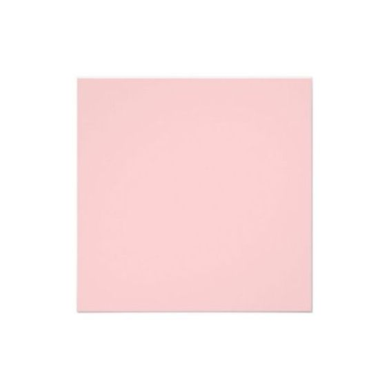 """Solid Color Light Pink Background Invite. 5.25"""" Square Invitation Card ❤ liked on Polyvore"""