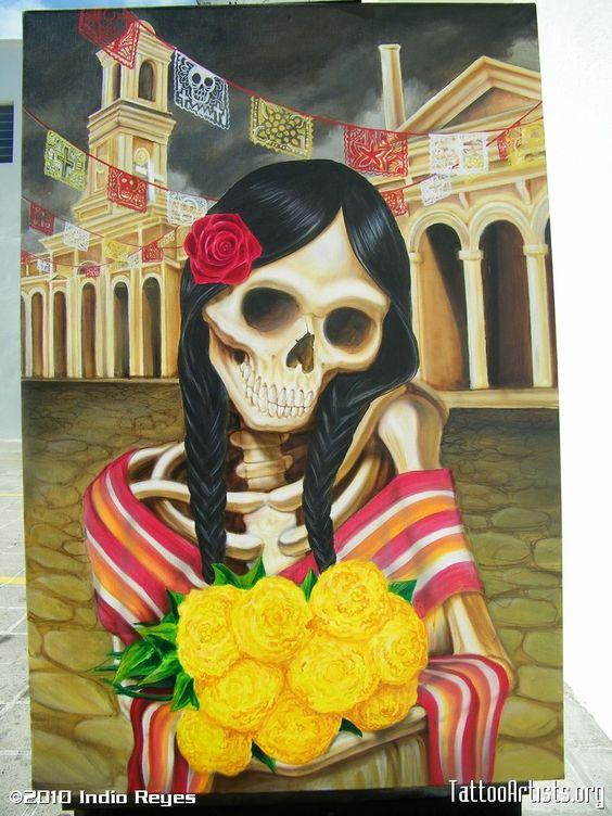Hermoso art by Indio Reyes:)