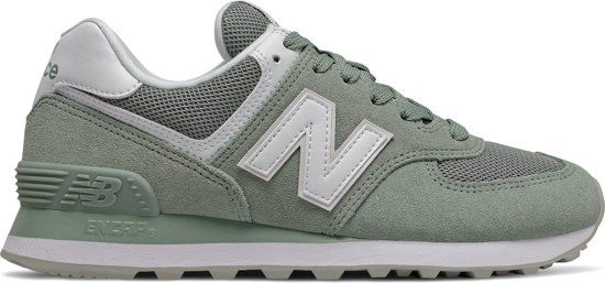 New Balance WL574 B Dames Sneakers - Green - Maat 41 in 2020 ...