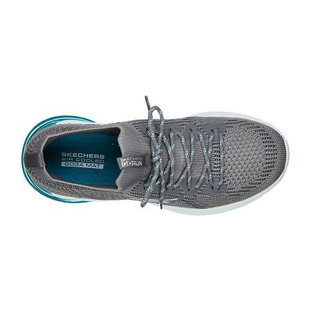 Skechers Go Run Air Status Womens Lace up Running Shoes