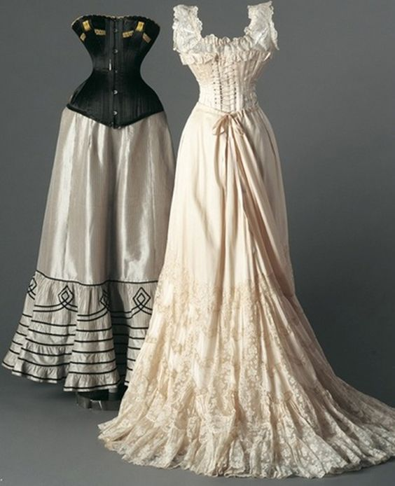 19th century petticoats and wedding dressses on pinterest for 19th century wedding dresses
