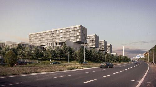 hospital oriental in lisbon - souto de moura