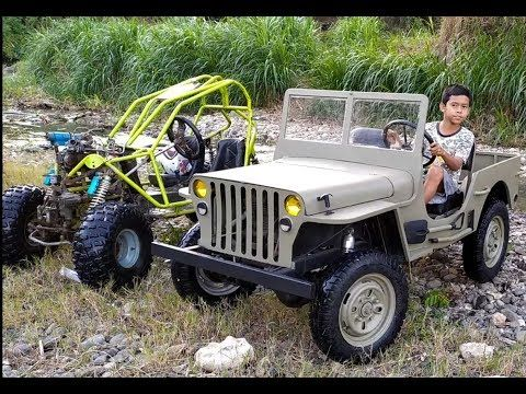Part 2 Mini Jeep Willys 4x4 Homemade Youtube 4x4 Mobil Jeep