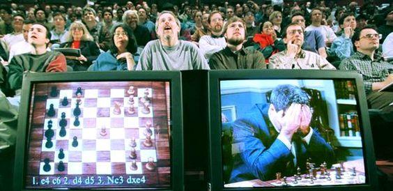 L'ordinateur Deep Blue n'a jamais gagné contre un joueur d'échec :p