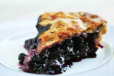 Simple, classic blueberry pie recipe, perfect for the summer blueberry season.