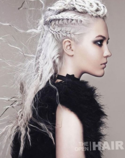 Hairstyles Women Videos Viking Hairstyles In 2020 Hair Styles Viking Hair Punk Hair