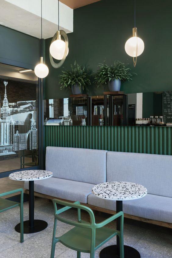 10+ интерьеров с зелеными стенами   ELLE Decoration