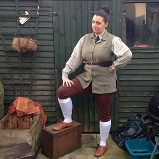 Agatha Trunchbull from Roald Dahl and Quentin Blake's Matilda | 49 Awesomely Clever Halloween Costumes For Book Lovers