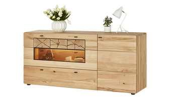 Eckkommode Kiefer Geolt Sideboard Sonoma Eiche Grau Sideboard 100 Cm Breit Sideboard Buffet Cabinet Bunte Kommo Sideboard Kommode Kaufen Echtholz Mobel