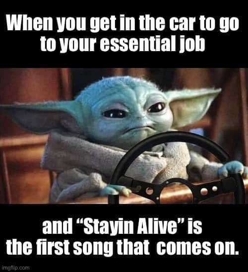 Pin By Monica Leal On Baby Yoda Memes In 2020 Yoda Funny Yoda Meme Funny Relatable Memes