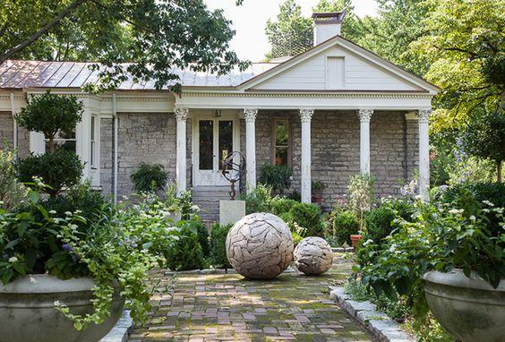 Inside Beautiful Botherum In Lexington Kentucky Garden