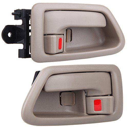 Eccpp Door Handles Interior Inside Inner Driver Passenger Side For 1997 1998 1999 2000 2001 Toyota Camry Beige 2pcs Door Handles Toyota Camry Interior