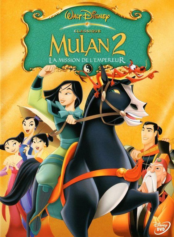 """Résultat de recherche d'images pour """"mulan 2    affiche"""""""