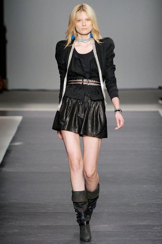 Isabel Marant Spring 2010 Ready-to-Wear Fashion Show - Elena Melnik (SILENT)