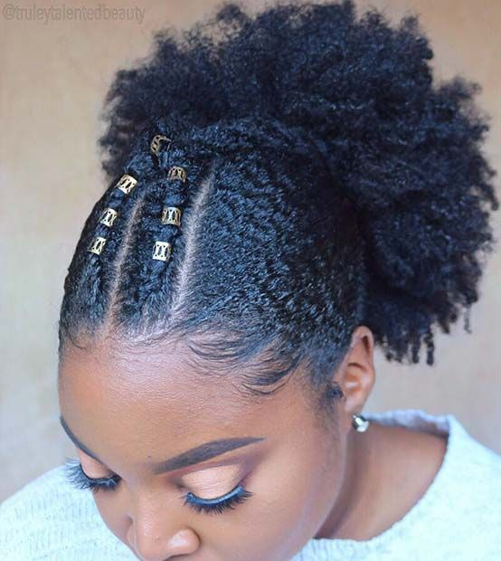 45 Beautiful Natural Hairstyles You Can Wear Anywhere Stayglam Natural Hair Styles Natural Hair Styles For Black Women Short Natural Hair Styles