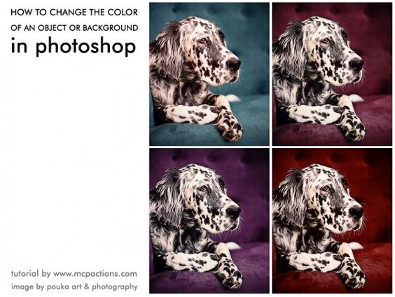 how to change the colour photoshop complex