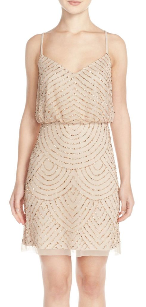 Pretty mesh sheath dress