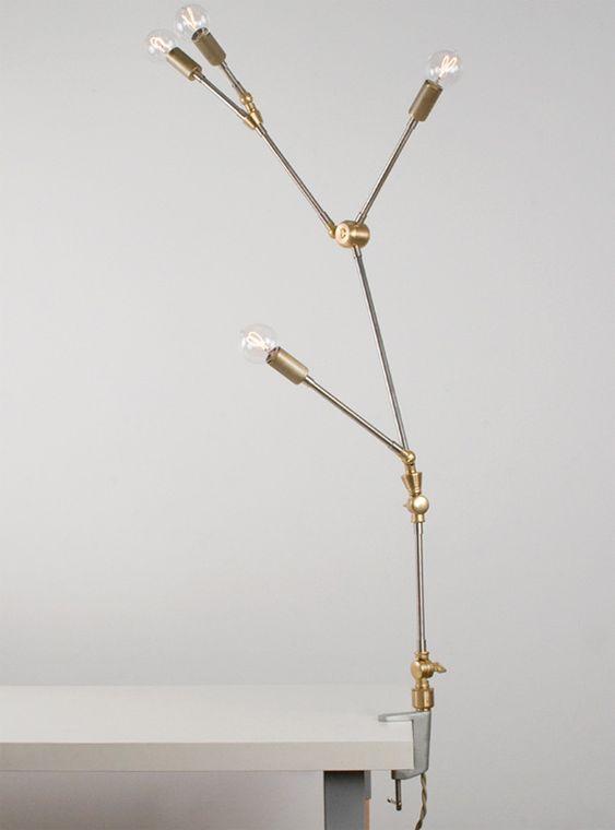 Lindsey Adelman :: You Make It Clamp Lamp