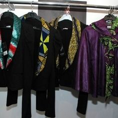 www.cewax.fr aime Veste tailleur pagne africain