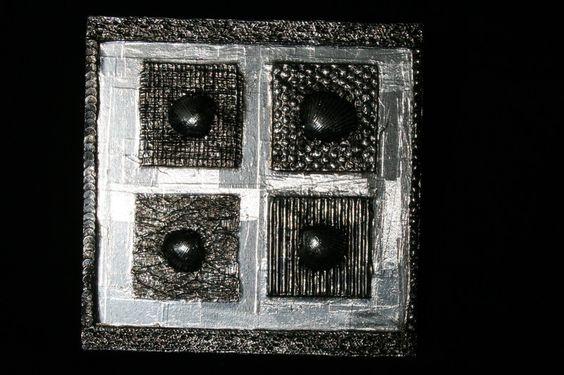 """Wanddeko - Metal Art Bild """"Flüstern der Meere"""" Aluminium Art - ein Designerstück von Angelas_Kreativwelt bei DaWanda"""