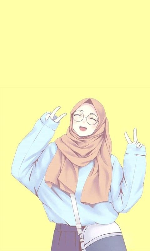 Pin On Wallpapers And Profile Pictures Cool Muslim cartoon wallpaper