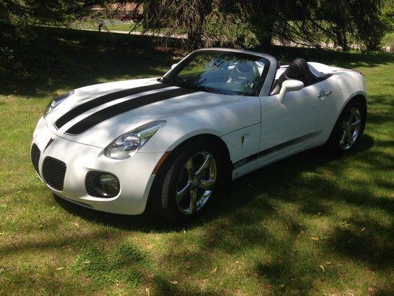 Pontiac Solstice Racing Stripes And Racing On Pinterest