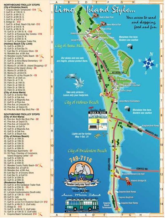 The City of Anna Maria - Island Trolley                                                                                                                                                      More