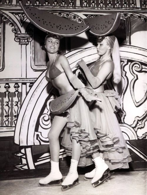 Heidi Hegerich, Lilo Eichberg, Las Vegas, 1960