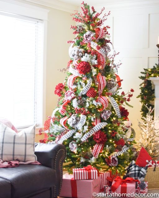 I Changed Up My Christmas Tree Decor By Only Buying One Thing This Year Christmas Decorations For The Home Christmas Decorations Rustic Christmas Tree Toppers