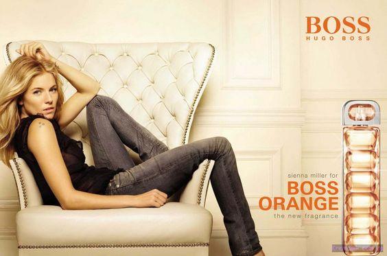 Sienna Miller for Boss Orange