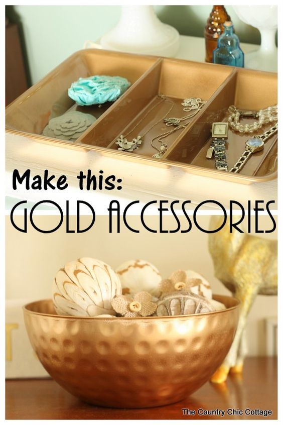 Make a jewelry organizer in just minutes from items that you can find at the Dollar Store. Spend less than $5 for this glam organizer that can be displayed.