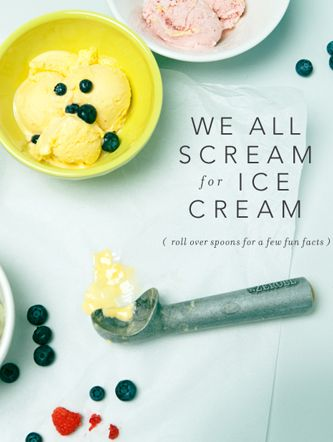 We All Scream For Ice Cream / The Magazine - Anthropologie.com