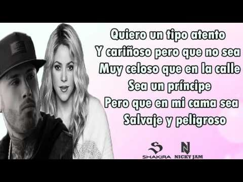 Shakira Ft Nicky Jam Perro Fiel Letra Youtube Subjuntivo Https Www Youtube Com Watch V N7qwt I4xoc Shakira Letras Perro Fiel Letras De Canciones