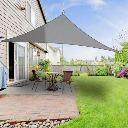 Waterproof Triangle Patio Garden Sun Shade Outdoor Sail Cloth In 2020 Outdoor Shade Garden Sun Shade Patio Garden