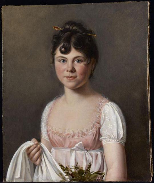 1810-1817 Martin Drölling - Portrait of the artist's daughter