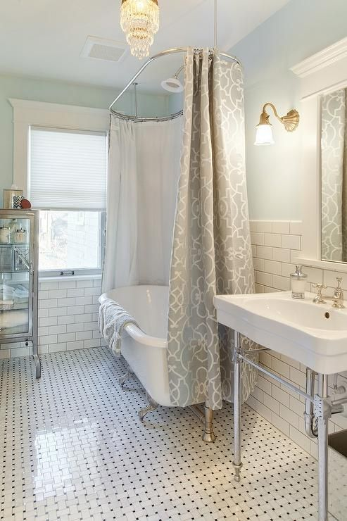 The floor cabinets and steel on pinterest for Vintage bathroom ideas pinterest