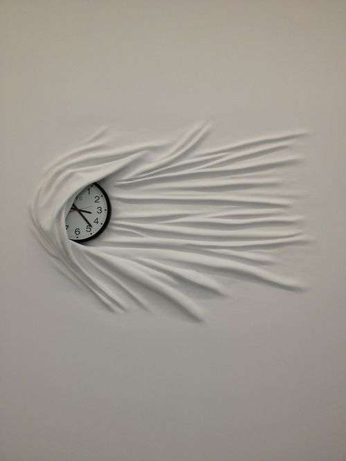 Sculpture by Daniel Arsham @ Galerie Perrotin Paris. S):