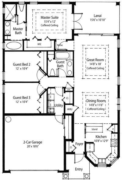 Plan 33044zr Energy Conscious Home Plan Apartment Floor