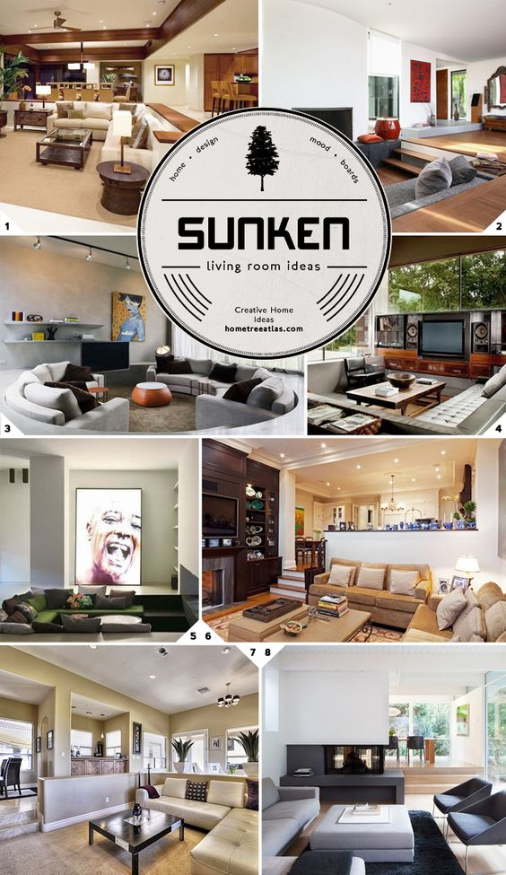 Sunken Living Room Ideas And Designs Style Pictures And Design