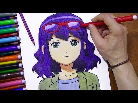رسم منى من الانمي الرائع ابطال الكرة تعلم واستمتع Youtube Anime Detective Conan Disney Princess