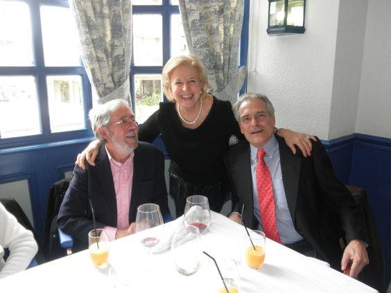 Nicolás Seisdedos, M.ª Carmen Crespo y Jaime Pereña